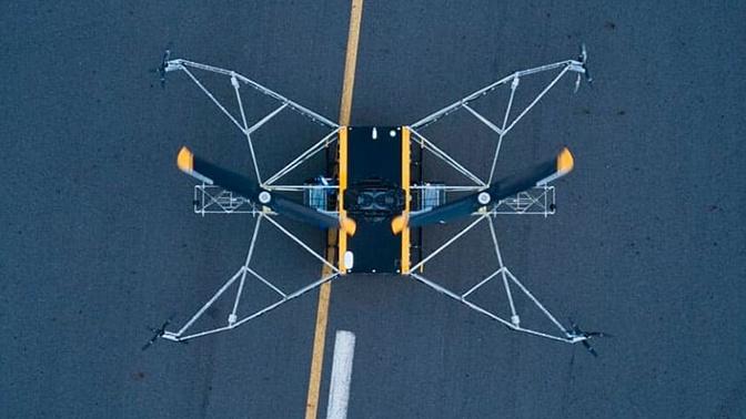 Российский дрон-дальнобойщик сможет спасать людей из горящих лесов