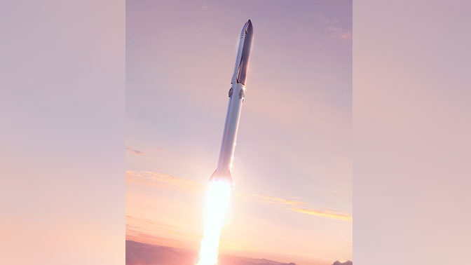 Прототип космического корабля Starship совершит испытательный полет на 18 километров