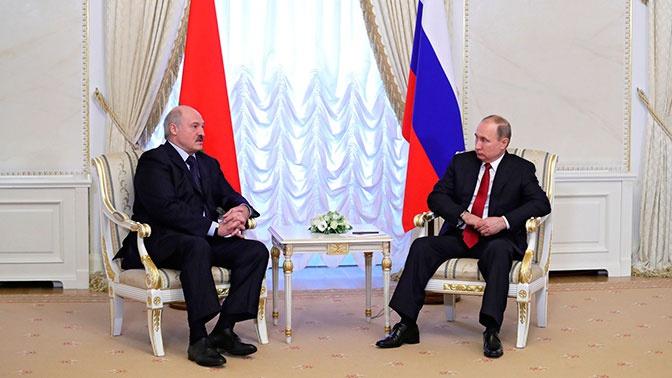 Путин и Лукашенко договорились о восстановлении транспортного сообщения