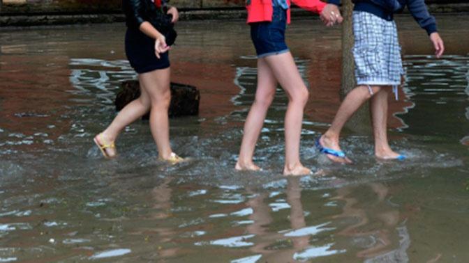 В Уссурийске ввели режим ЧС после прошедшего тайфуна «Хайшен»