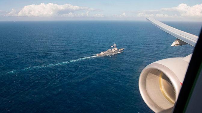 ВМС США провели совместные учения с НАТО в Черном море