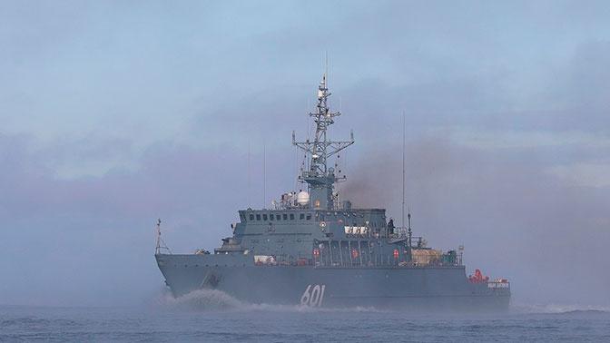 Черноморский флот следит за судами ВМС Великобритании и США, зашедшими в Черное море