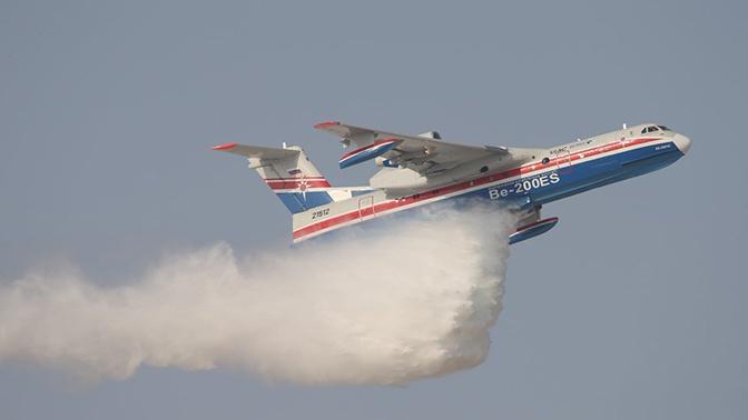 Российские самолеты-амфибии Бе-200ЧС более 200 раз вылетали тушить лесные пожары в Турции