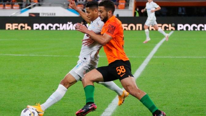 «Зенит» сыграл вничью с «Уралом» в матче восьмого тура РПЛ