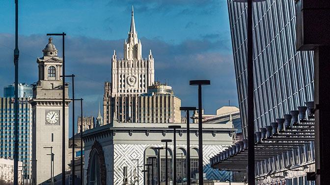 В МИД РФ осудили планы ЕС ввести санкции против Белоруссии