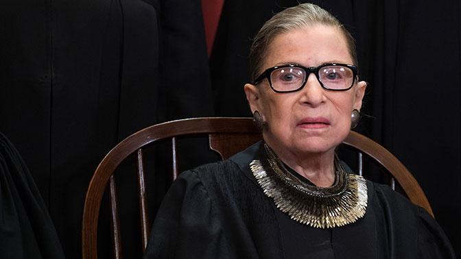 В США умерла судья Верховного суда Рут Гинзбург