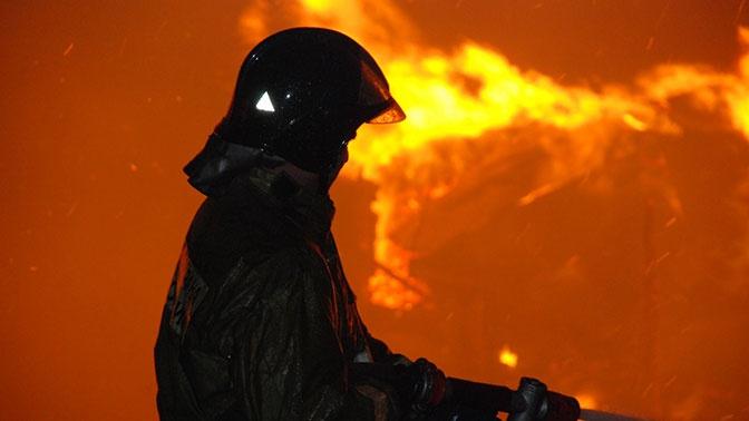 Мать с дочкой погибли при пожаре  в частном доме в Красноярске