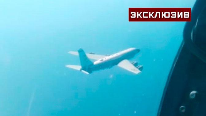 Перехват патрульного самолета ВМС США над Черным морем: эксклюзивные кадры из кабины Су-27