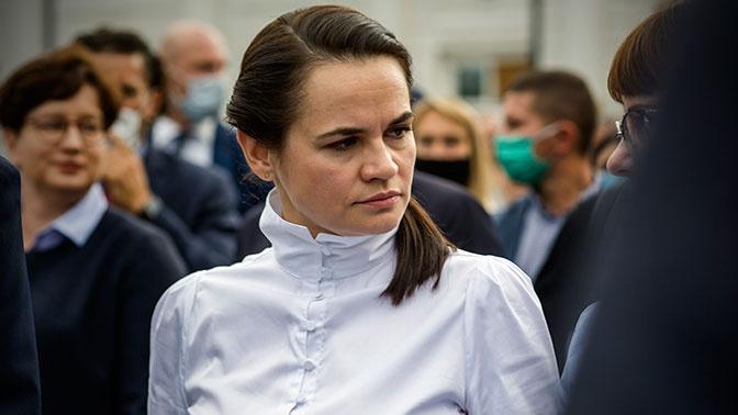 Тихановская отказалась видеть себя будущим президентом Белоруссии