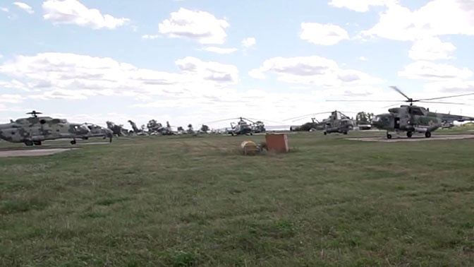 Непрерывная «Карусель»: в филиале академии ВВС в Сызрани показали главный этап обучения вертолетчиков