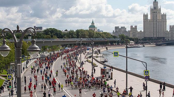 Улицы и набережные столицы перекроют в связи с Московским марафоном