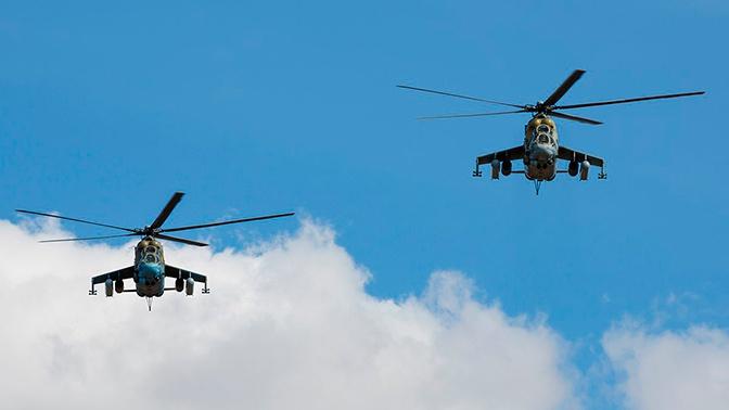 Около 20 экипажей вертолетов армейской авиации задействованы в учении «Кавказ-2020» в Армении