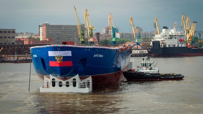 Атомный ледокол «Арктика» отправится из Санкт-Петербурга на ледовые испытания
