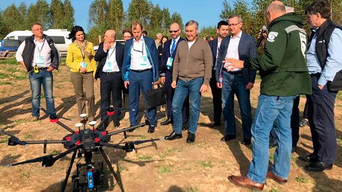 В Калужской области презентовали первый в России карбоновый полигон