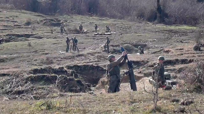 На учениях «Кавказ-2020» отработали оборону Абхазии от террористов