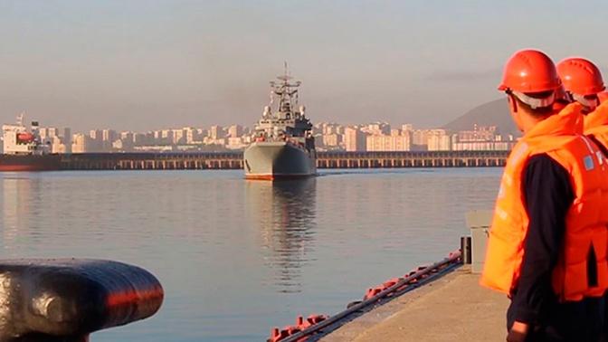На Кубани в рамках «Кавказ-2020» морские пехотинцы совершили марш и погрузку на большие десантные корабли