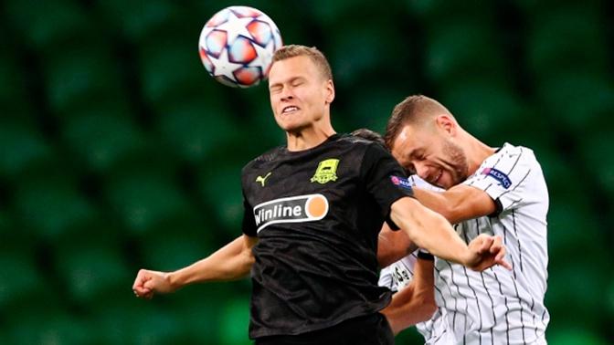 «Краснодар» победил ПАОК в квалификационном раунде плей-офф Лиги чемпионов