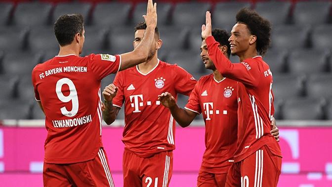 «Бавария» победила «Севилью» в матче за Суперкубок UEFA