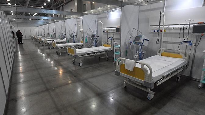 Власти Москвы выводят из резерва койки для COVID-пациентов