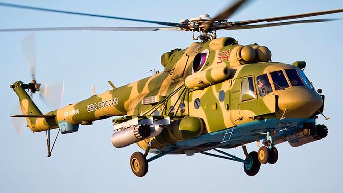Под Волгоградом военные медики эвакуировали «раненых» на вертолетах Ми-8АМТШ