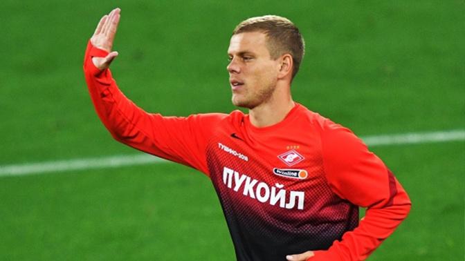 Кокорин впервые попал в стартовый состав «Спартака» в матче РПЛ