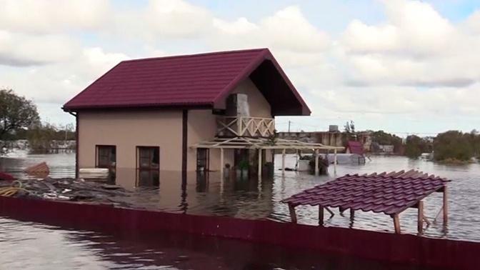 Уровень воды в Амуре достиг отметки категории опасного явления
