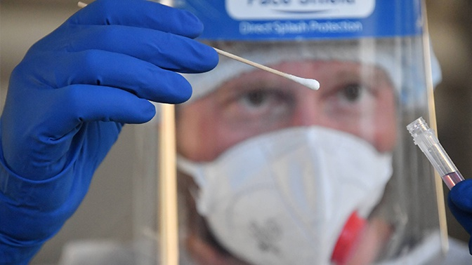 За сутки в Москве зафиксировано более 2 тысяч случаев инфицирования COVID-19