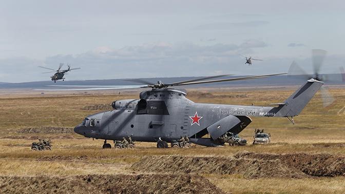 Тяжелый вертолет Ми-26 могут модернизировать для Арктики