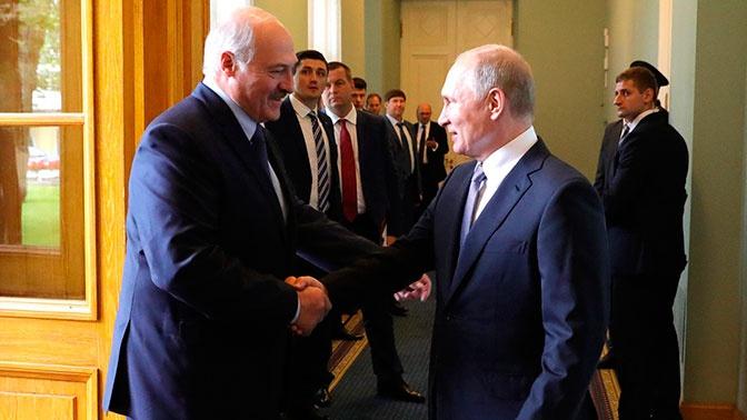 Путин: Россия и Белоруссия всегда будут отстаивать правду о Великой Отечественной войне
