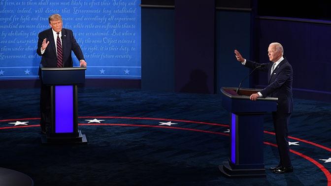 Перебранка в прямом эфире: как прошли дебаты Трампа и Байдена