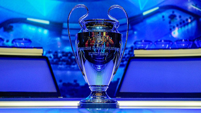 Состоялась жеребьевка группового раунда Лиги чемпионов