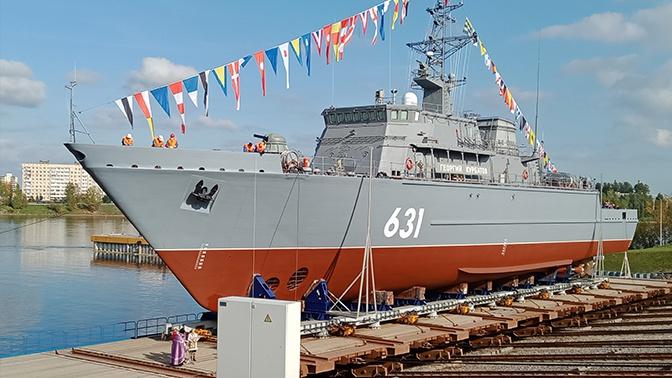 Евменов: Минно-тральные силы ВМФ России пополняются новыми кораблями противоминной обороны