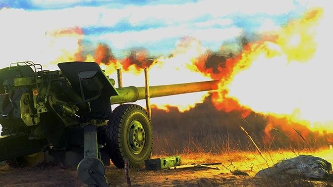 Огневой удар: артиллеристы и танкисты уничтожили «врага» под Нижним Новгородом