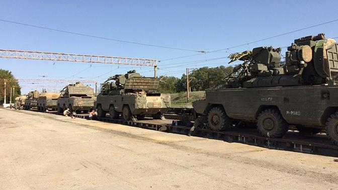 Зенитчики ЧФ вернулись в пункт дислокации после учений «Кавказ-2020»