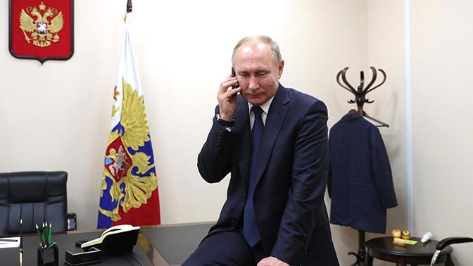 В Кремле рассказали, чем займется Путин в день рождения