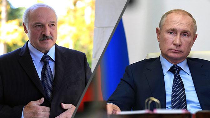 Лукашенко в поздравлении Путину назвал президента РФ надежным другом Белоруссии