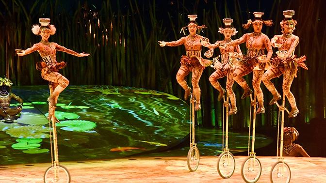 Артистка Цирка дю Солей временно устроилась работать в батутный центр в Омске