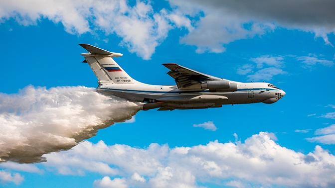 Авиация Минобороны РФ сбросила более 1,4 тысяч тонн воды в районе ЧС под Рязанью