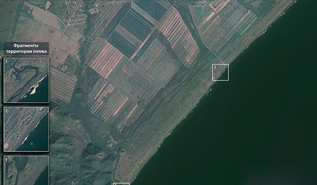 Сбрасывающее отходы вблизи берегов Камчатки судно нашли со спутника