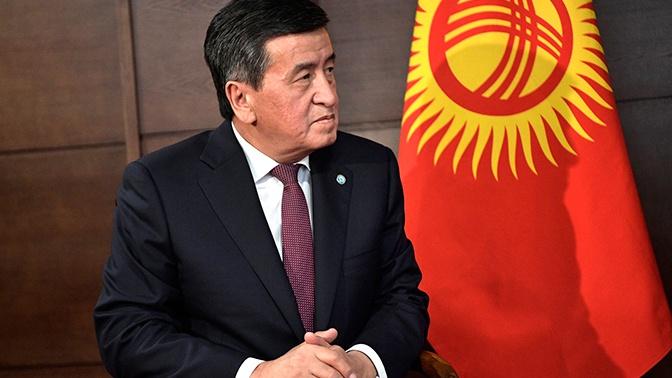 Президент Киргизии освободил от должности секретаря Совбеза страны