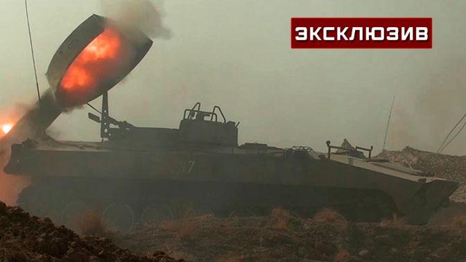 Разминирование взрывами: как работала установка УР-77 «Змей Горыныч» на учениях «Кавказ-2020»