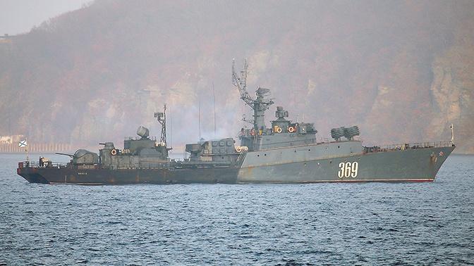 Спустя 44 дня: противолодочная ударная группа ТОФ вернулась на Камчатку из длительного плавания