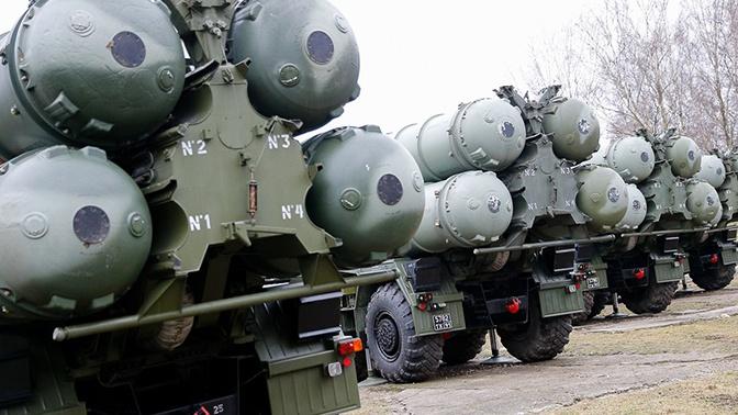 Расчеты ЗРК С-400 Балтфлота вернулись в пункты дислокации после стрельб в Астраханской области