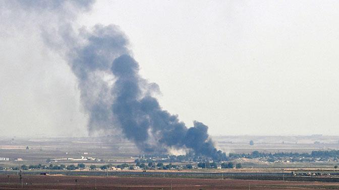 ЦПВС: боевики подорвали склад с боеприпасами и хлорсодержащими веществами к северу от Идлиба