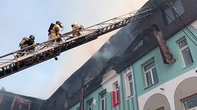 МЧС: пожар в Нальчике ликвидирован