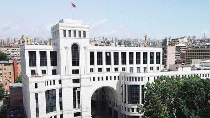 МИД Армении сообщил об атаке территории азербайджанскими беспилотниками