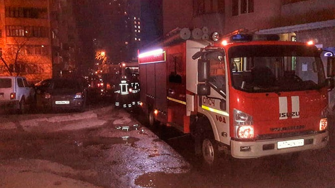В Уфе при пожаре погибли три человека