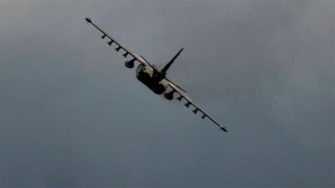 Минобороны Азербайджана заявило об уничтожении армянского Су-25