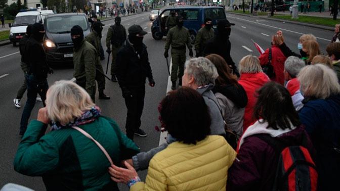 В Минске милиция открыла стрельбу в воздух резиновыми пулями