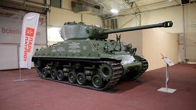 Пролежавший более 70 лет на дне Баренцева моря танк «Шерман» пополнил коллекцию Парка «Патриот»